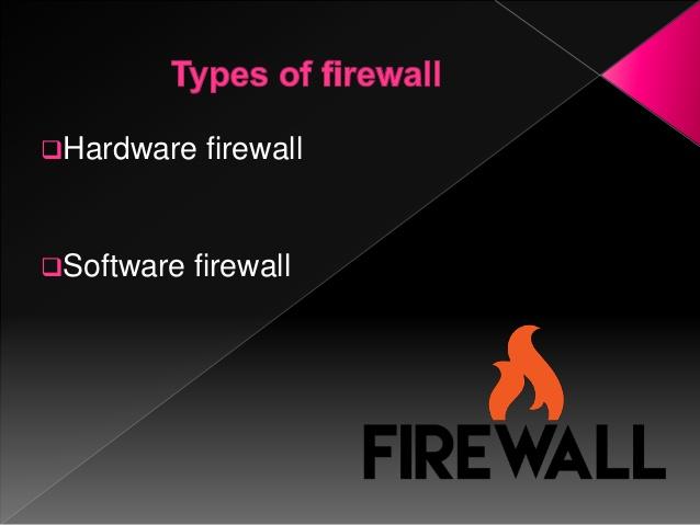 firewall types