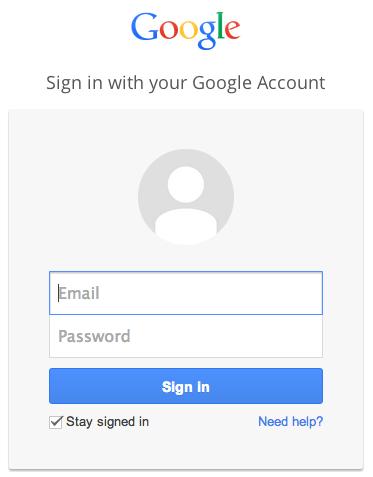 gmail ac login