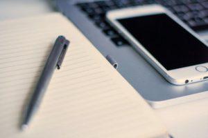 write a resume on phone