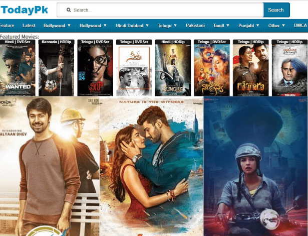 TodayPk 2019 - Watch & Download Online Free Telugu HD Movies!