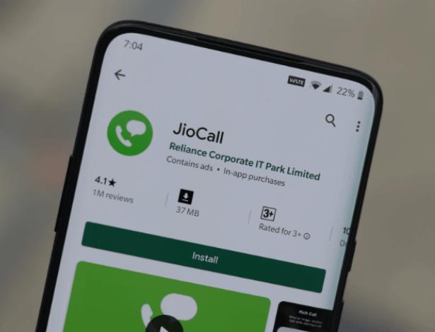 Jio4GVoice app transformed into Jio Call app