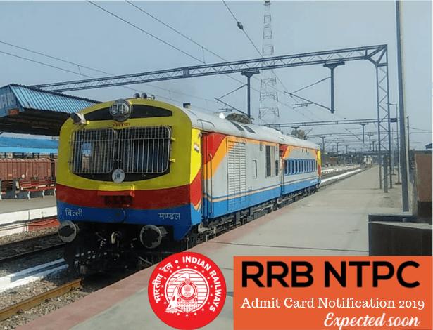 RRB NTPC Admit Card 2019