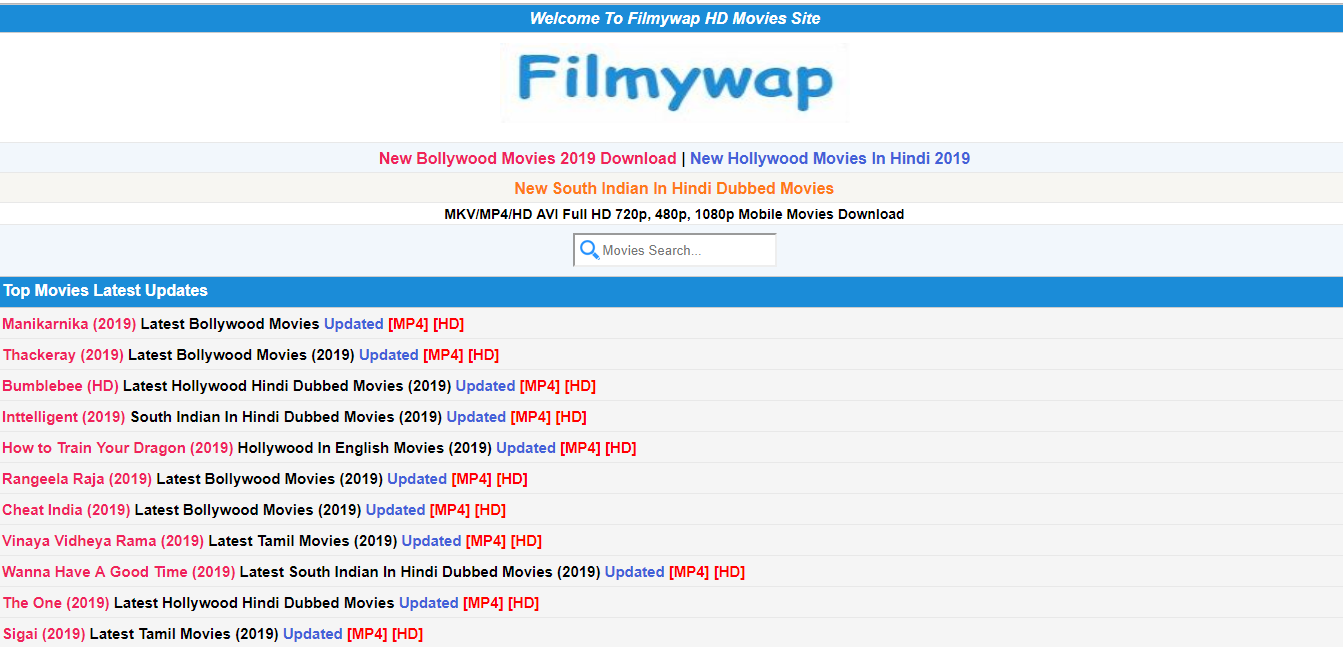 Filmywap Official